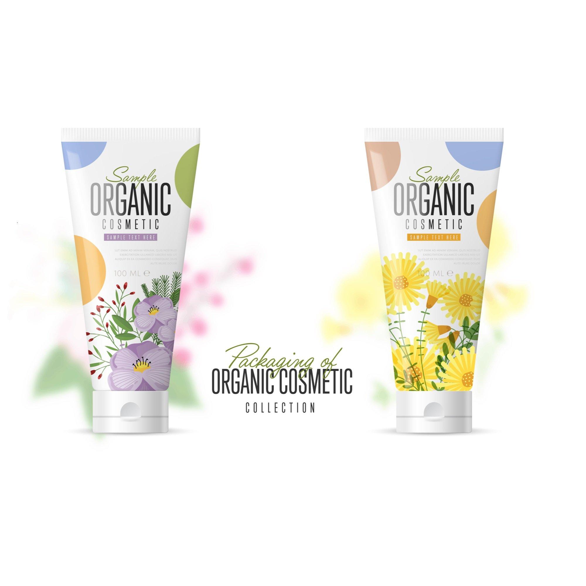 VerpackungsDesign Bio Kosmetik