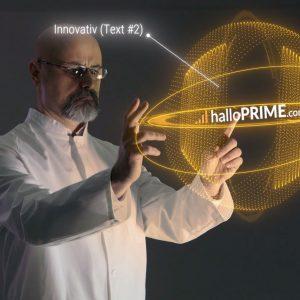33 Video Intros Template - Hologramm Untersuchung