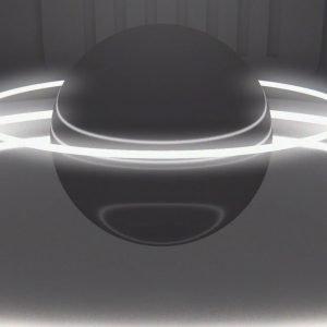 Video Intro 3 - schwarze Sphäre
